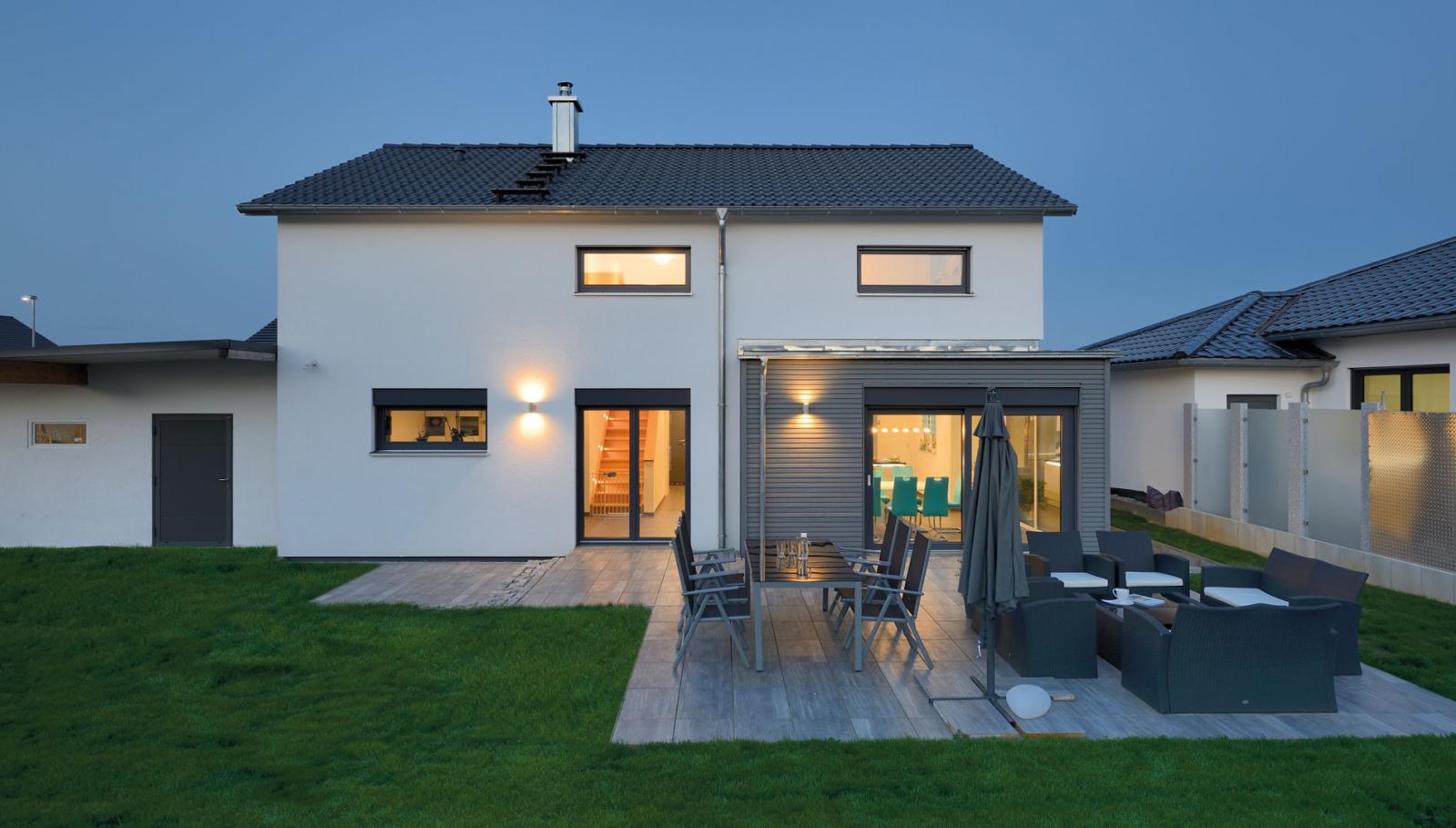新农村 鞍屋房 途墅之家图纸设计, 小花园设计 独立车库 超大室内空间