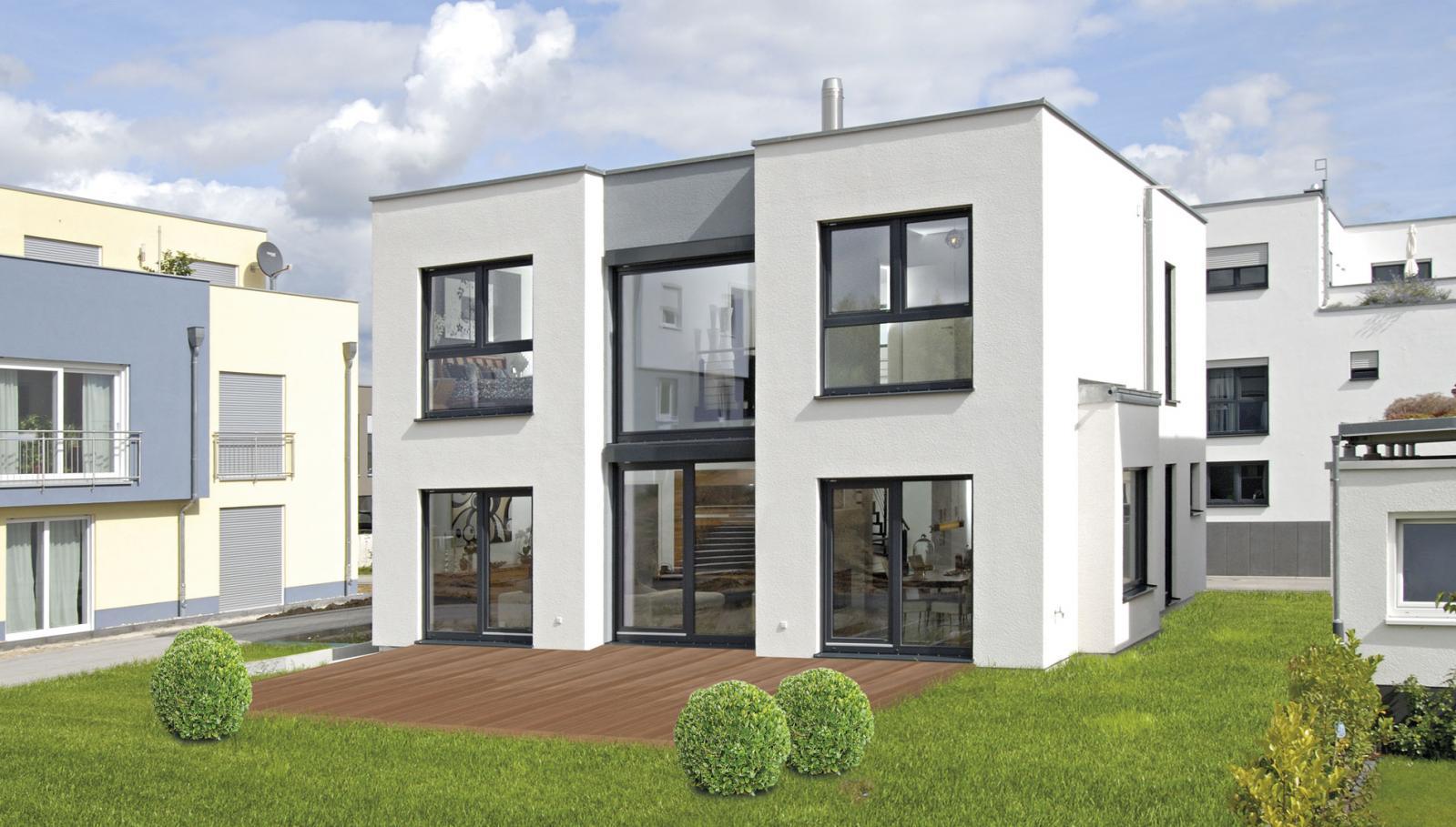 新式 平房 简欧现代小别墅图纸设计, 新中式平房 新农村建设房 空间大图片